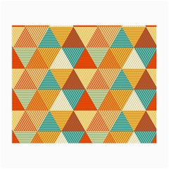 Triangles Pattern  Small Glasses Cloth