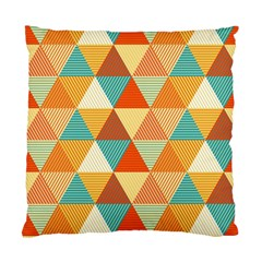 Triangles Pattern  Standard Cushion Case (One Side)