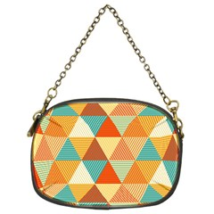 Triangles Pattern  Chain Purses (Two Sides)