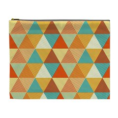 Triangles Pattern  Cosmetic Bag (XL)