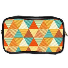 Triangles Pattern  Toiletries Bags