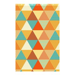 Triangles Pattern  Shower Curtain 48  x 72  (Small)