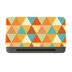 Triangles Pattern  Memory Card Reader with CF