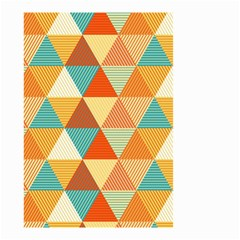 Triangles Pattern  Small Garden Flag (Two Sides)