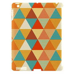 Triangles Pattern  Apple iPad 3/4 Hardshell Case (Compatible with Smart Cover)