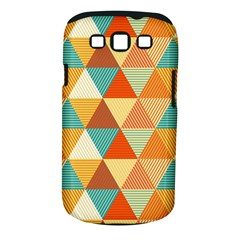 Triangles Pattern  Samsung Galaxy S III Classic Hardshell Case (PC+Silicone)