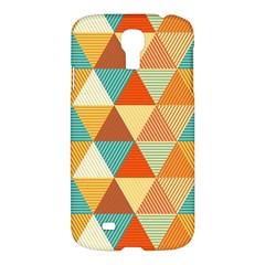 Triangles Pattern  Samsung Galaxy S4 I9500/I9505 Hardshell Case