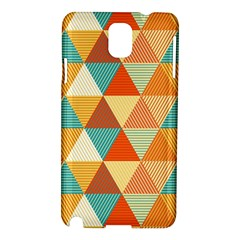 Triangles Pattern  Samsung Galaxy Note 3 N9005 Hardshell Case