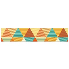 Triangles Pattern  Flano Scarf (Small)