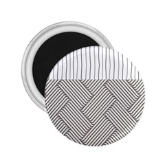 Lines and stripes patterns 2.25  Magnets
