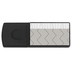 Lines and stripes patterns USB Flash Drive Rectangular (1 GB)