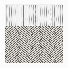 Lines and stripes patterns Medium Glasses Cloth