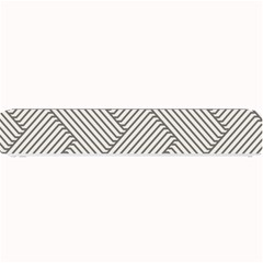 Lines and stripes patterns Small Bar Mats