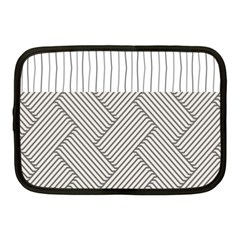 Lines and stripes patterns Netbook Case (Medium)