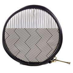 Lines and stripes patterns Mini Makeup Bags