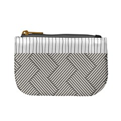 Lines and stripes patterns Mini Coin Purses