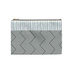 Lines and stripes patterns Cosmetic Bag (Medium)