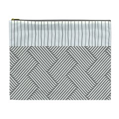 Lines and stripes patterns Cosmetic Bag (XL)
