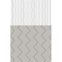 Lines and stripes patterns 5.5  x 8.5  Notebooks