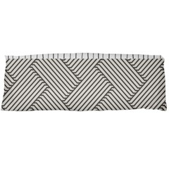 Lines and stripes patterns Body Pillow Case Dakimakura (Two Sides)