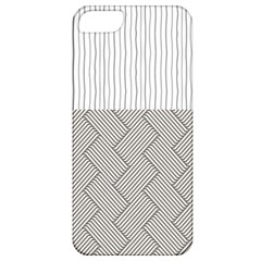 Lines and stripes patterns Apple iPhone 5 Classic Hardshell Case