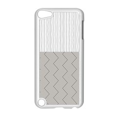 Lines and stripes patterns Apple iPod Touch 5 Case (White)