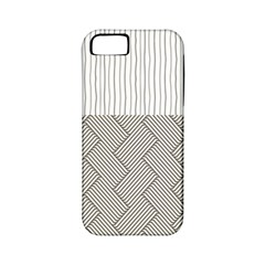 Lines and stripes patterns Apple iPhone 5 Classic Hardshell Case (PC+Silicone)