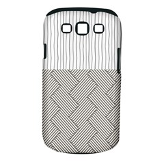 Lines and stripes patterns Samsung Galaxy S III Classic Hardshell Case (PC+Silicone)