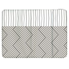 Lines and stripes patterns Samsung Galaxy Tab 7  P1000 Flip Case