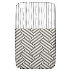 Lines and stripes patterns Samsung Galaxy Tab 3 (8 ) T3100 Hardshell Case
