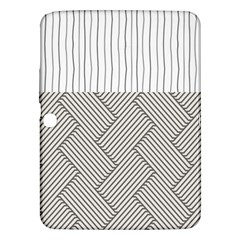 Lines and stripes patterns Samsung Galaxy Tab 3 (10.1 ) P5200 Hardshell Case