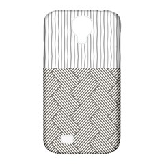Lines and stripes patterns Samsung Galaxy S4 Classic Hardshell Case (PC+Silicone)