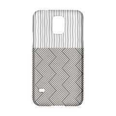 Lines and stripes patterns Samsung Galaxy S5 Hardshell Case