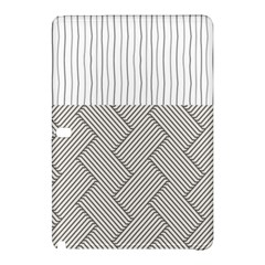 Lines and stripes patterns Samsung Galaxy Tab Pro 12.2 Hardshell Case