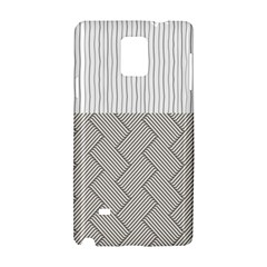 Lines and stripes patterns Samsung Galaxy Note 4 Hardshell Case