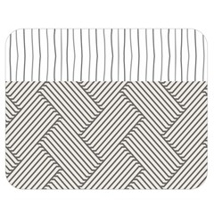 Lines and stripes patterns Double Sided Flano Blanket (Medium)