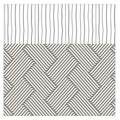 Lines and stripes patterns Large Satin Scarf (Square)