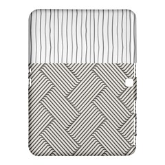 Lines and stripes patterns Samsung Galaxy Tab 4 (10.1 ) Hardshell Case