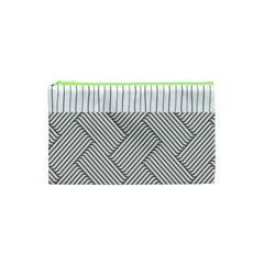 Lines and stripes patterns Cosmetic Bag (XS)