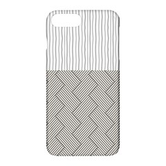 Lines And Stripes Patterns Apple Iphone 7 Plus Hardshell Case