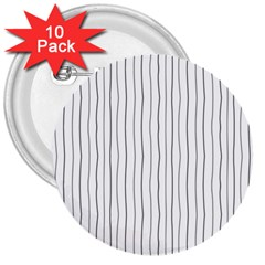 Hand drawn lines pattern 3  Buttons (10 pack)
