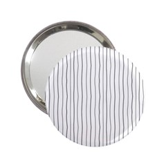 Hand drawn lines pattern 2.25  Handbag Mirrors
