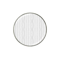 Hand drawn lines pattern Hat Clip Ball Marker (10 pack)