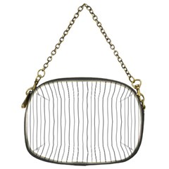 Hand drawn lines pattern Chain Purses (One Side)