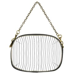Hand drawn lines pattern Chain Purses (Two Sides)