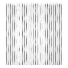 Hand drawn lines pattern Shower Curtain 66  x 72  (Large)