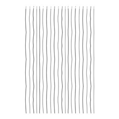 Hand drawn lines pattern Shower Curtain 48  x 72  (Small)