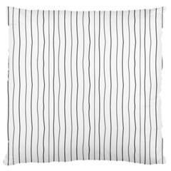 Hand drawn lines pattern Large Cushion Case (One Side)