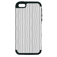 Hand drawn lines pattern Apple iPhone 5 Hardshell Case (PC+Silicone)