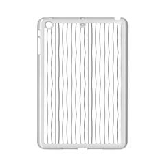 Hand drawn lines pattern iPad Mini 2 Enamel Coated Cases